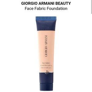 Giorgio Armani Makeup - New Giorgio Armani Face Fabric Foundation 0.5